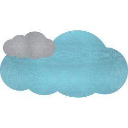 Alfombra Vinílica Infantil Cloudy - 95x50 cm