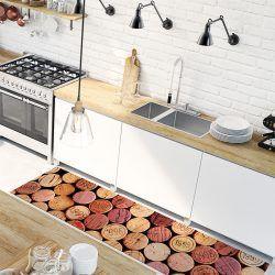 Alfombra Vinílica - Cork - cocina