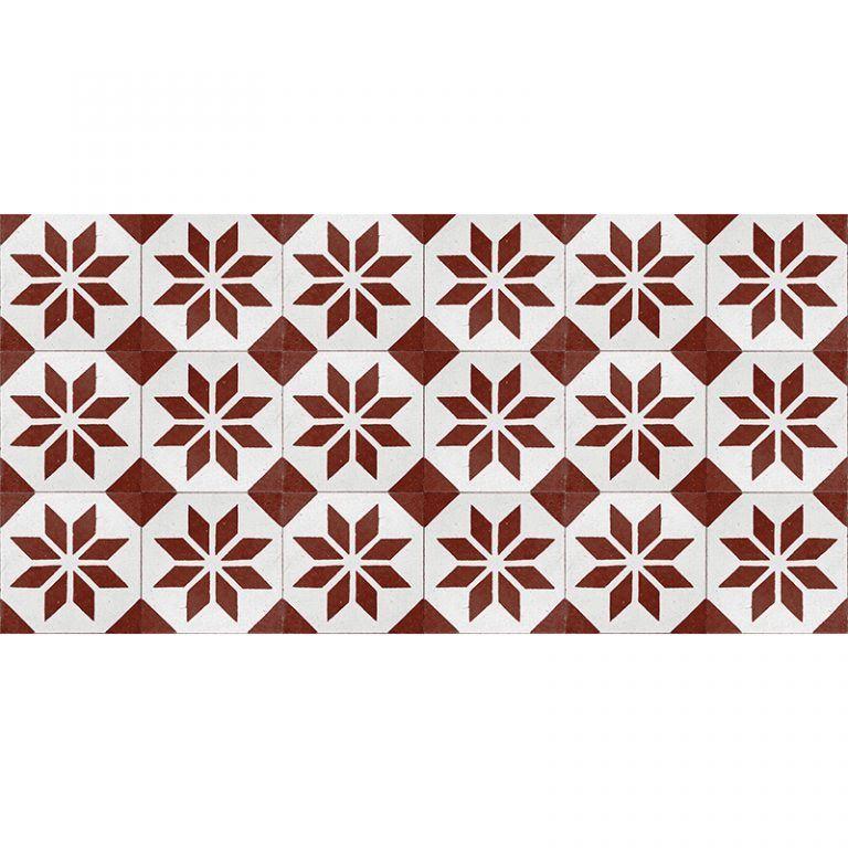 Alfombra Vinílica - Videl Rojo - 97x48 cm