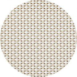 Alfombra Vinílica Redonda Weave - 60x60 cm