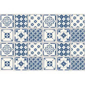 Vinilos adhesivos Azul Sevilla