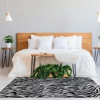 ALfombra Vinílica Black & White habitación