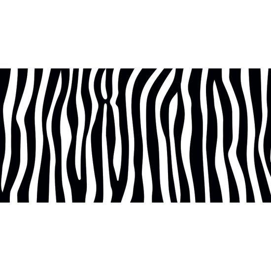 ALfombra Vinílica Black & White vertical 97x48