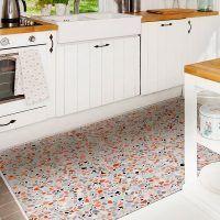 ALfombra Vinílica Mosaic Multicolor cocina