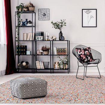 ALfombra Vinílica Mosaic Multicolor salón