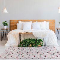 ALfombra Vinílica Mosaic Pink 150x65