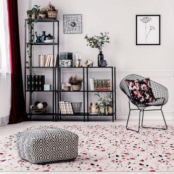 ALfombra Vinílica Mosaic Pink 295x195