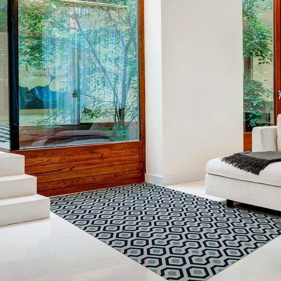 ALfombra Vinílica Ash recibidor