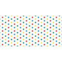 Alfombra Vinílica Infantil Polka Dots 97x48