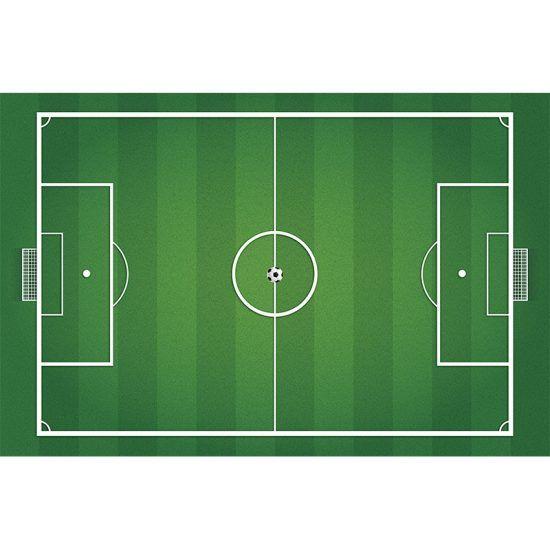 Alfombra Vinílica Infantil Campo de Futbol 295x195