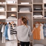 Armario ropa orden