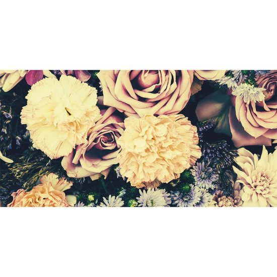 alfombra vinílica floral garden