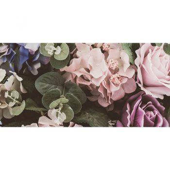 alfombra vinílica floral liria 97 x 48 cm