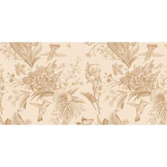 alfombra vinílica Floral Dessert 97 x 48 cm