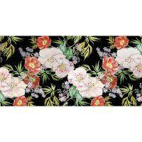 Alfombra Vinílica Floral Rita 97 x 48 cm