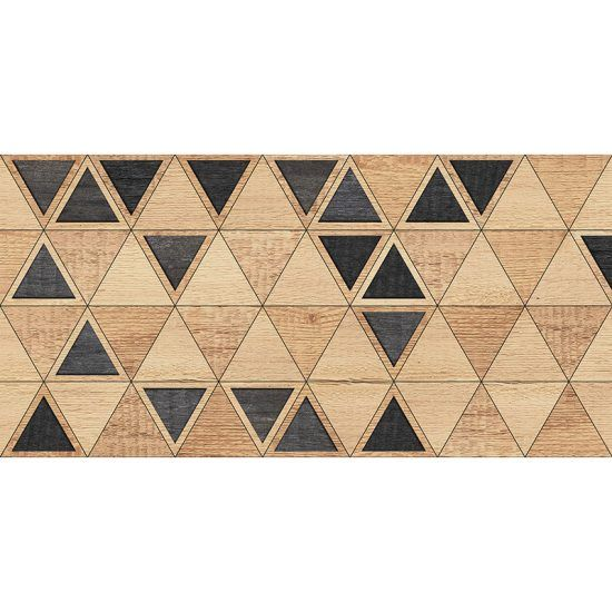 Alfombra Vinílica Triangles Wood