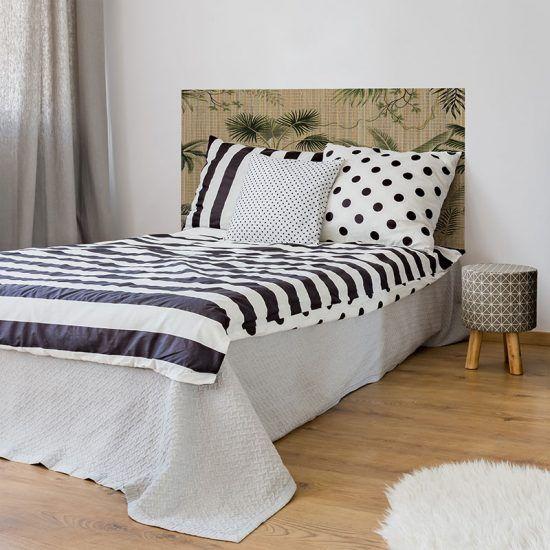 Dormitorio cabecero de cama Balica 135 x 80 cm