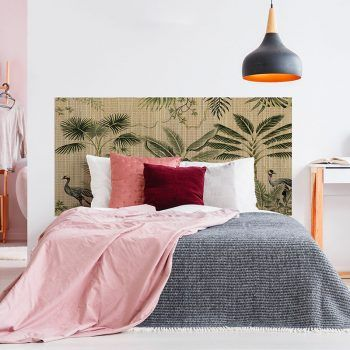 Dormitorio cabecero de cama matrimonio de vinilo Balica