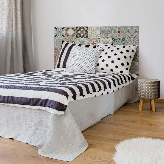 Dormitorio cabecero de cama Loures 135 x 80 cm