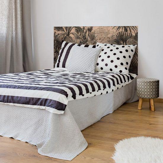 Dormitorio cabecero de cama Sceney 135 x 80 cm