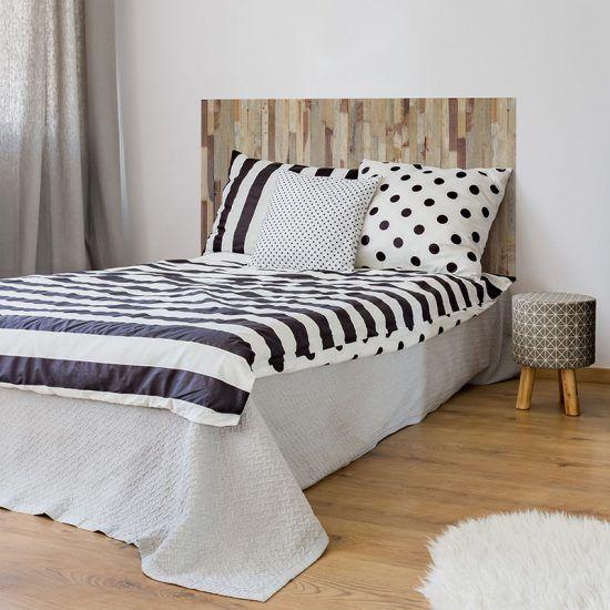 Dormitorio cabecero de cama Brown 135 x 80 cm