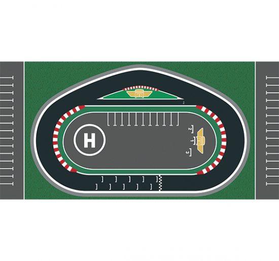 alfombra vinílica infantil Racing Circuit Outlet 97x48