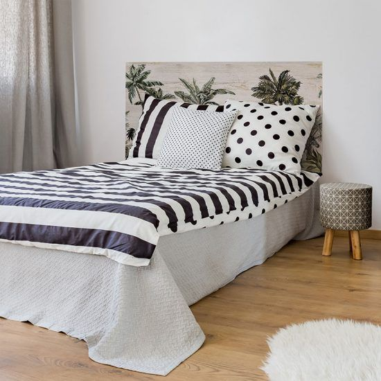 Dormitorio cabecero de cama Jungle Animals 135 x 80 cm