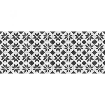 Cabecero de cama de vinilo Videl Negro 200 x 80 cm