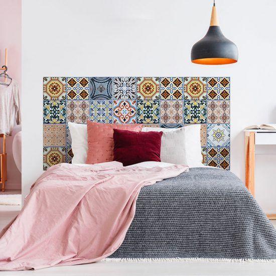 Dormitorio cabecero de cama Tareyja 160 x 80 cm
