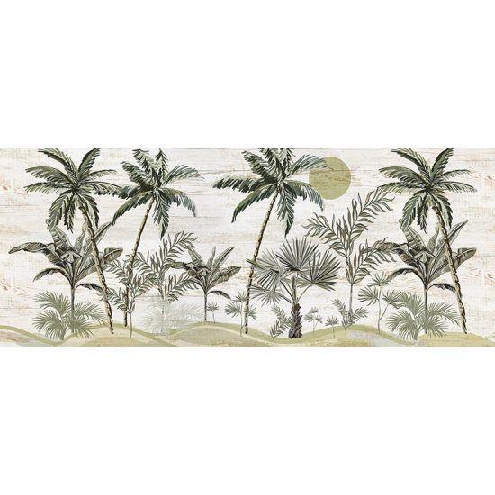 Cabecero de cama de vinilo Paradise 200 x 80 cm