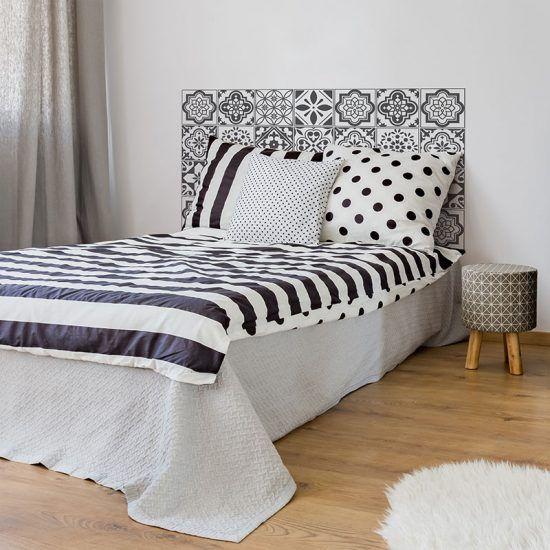 Dormitorio cabecero de cama Toby 135 x 80 cm