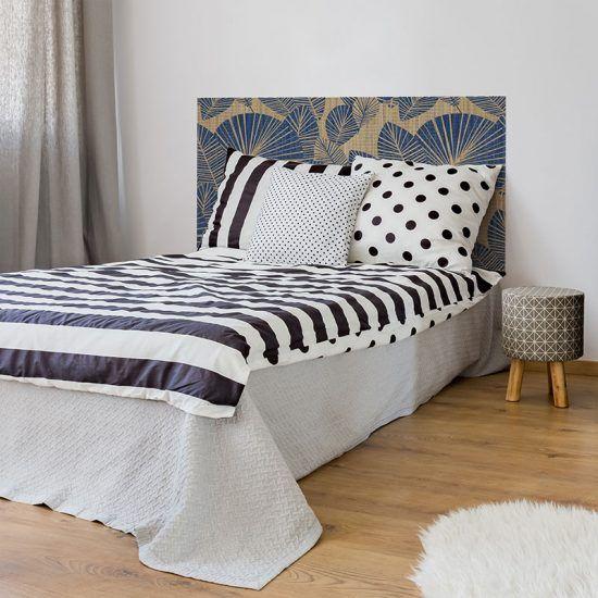 Dormitorio cabecero de cama Linda 135 x 80 cm