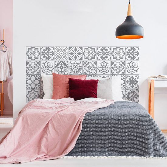 Dormitorio cabecero de cama Tina 160 x 80 cm