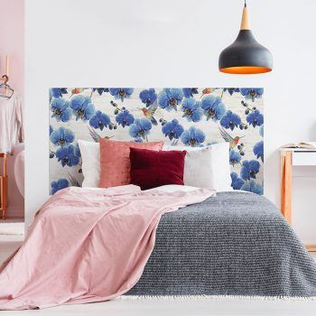 Cabecero de cama Birds dormitorio 160 x 80 cm