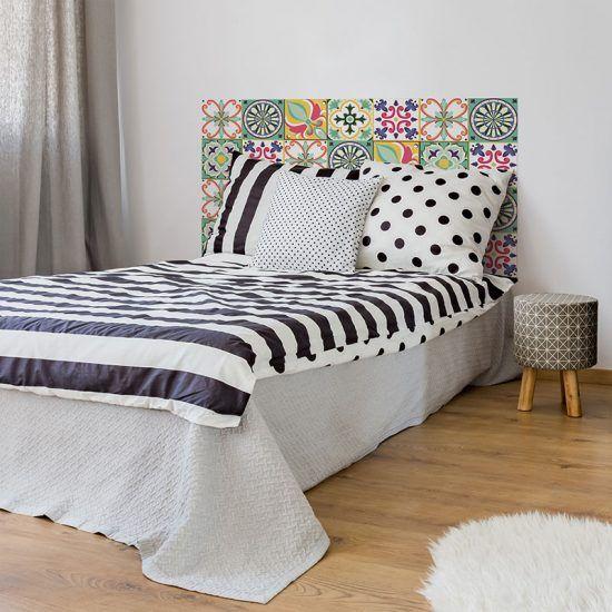 Dormitorio cabecero de cama Viseu 135 x 80 cm