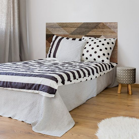 Dormitorio cabecero de cama Verlen Brown 135 x 80 cm