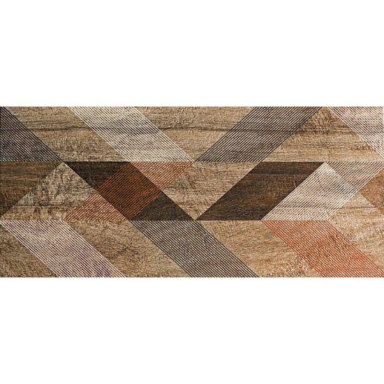 Cabecero de cama de vinilo Verlen Brown 200 x 80 cm