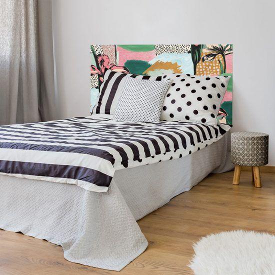 Dormitorio cabecero de cama Artistic 135 x 80 cm