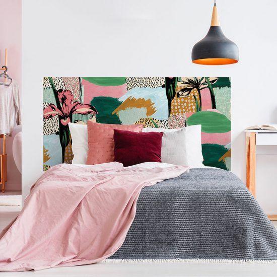 Cabecero de cama Artistic dormitorio 160 x 80 cm