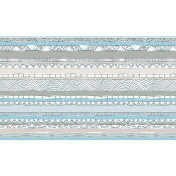 Cabecero de cama de vinilo Infantil Love Lines 135x80
