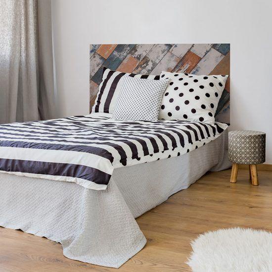 Dormitorio cabecero de cama Niza 135 x 80 cm