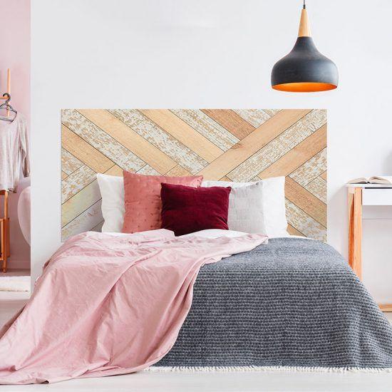 Dormitorio cabecero de cama Parket 160 x 80 cm