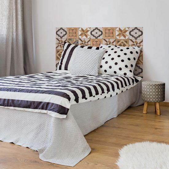 Dormitorio cabecero de cama Verna 135 x 80 cm