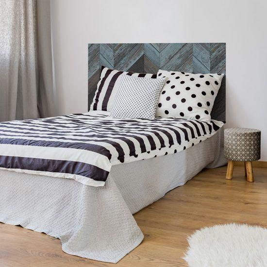 Dormitorio cabecero de cama Espiga 135 x 80 cm