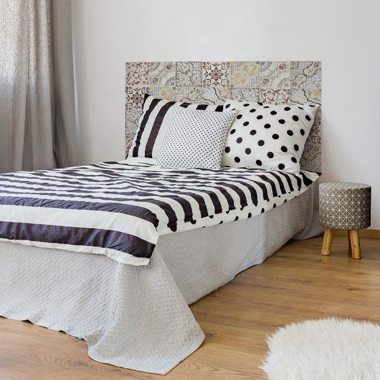 Dormitorio cabecero de cama Milo 135 x 80 cm