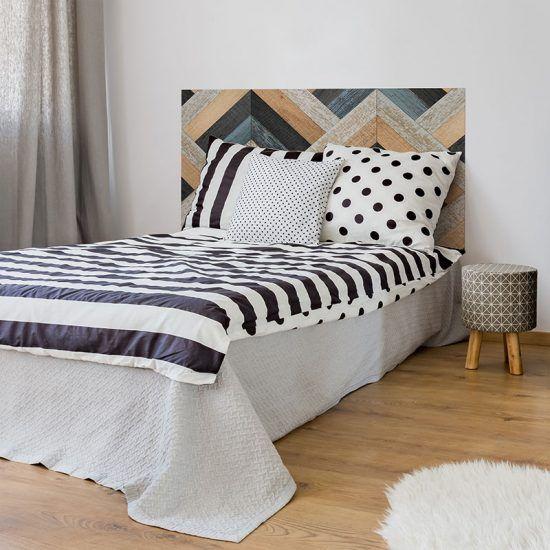 Dormitorio cabecero de cama Espiga Rústica 135 x 80 cm