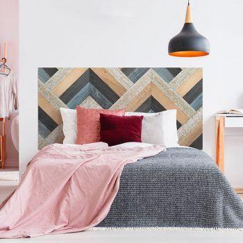 Dormitorio cabecero de cama Espiga Rústica 160 x 80 cm