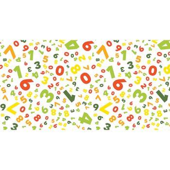 alfombra vinílica infantil Crazy Numbers Outlet 97x48
