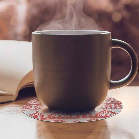 Posavasos redondos Trivial café