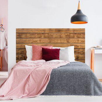 Cabecero de cama de vinilo Danko cama de matrimonio